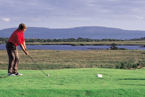 Hole – 9 Na Siain - Bearna Golf Club, Galway