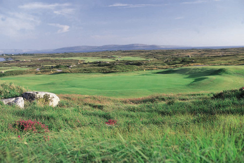 Hole - 15 An Tulan Cleasach - Bearna Golf Club, Galway