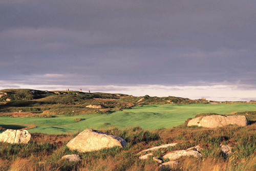 Hole - 16 Na Peinni Siosarnacha - Bearna Golf Club, Galway